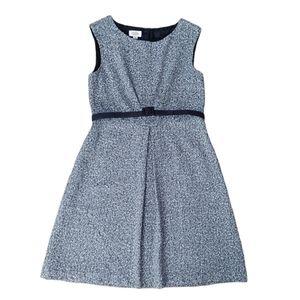 Classic Talbots wool blend tweed dress size 14